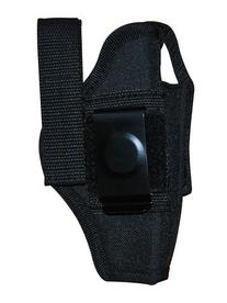 Airsoft / Gun Holster Black Ambidextrous Belt Holster with