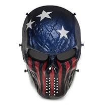 TOMOUNT Airsoft Paintball Tactical Full Face Protection