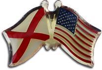 Alabama - State Friendship Pin