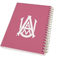Alabama A&M Clear 7 x 10 Spiral Journal Notebook 'Official