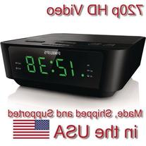 AES Spy Cameras ACRHD 720p Alarm Clock Radio HD Covert