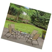 Mainstays Albany Lane 5-Piece Folding Seating Set, Multiple