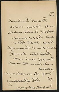 Albert Spalding Autographed Letter Signed Page from America'