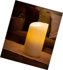 "Aluratek ALC3506F 6"" Flameless LED Wax Candle with Built-In"