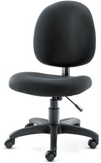Alera ALEVT48FA10B Essentia Series Swivel Task Chair Acrylic
