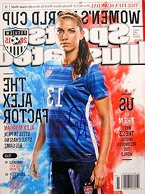 Alex Morgan USA SOCCR WORLD CUP CHAMPION autographed Sports