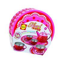 ALEX Toys Heart Tin Tea Set