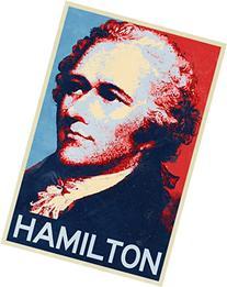 Alexander Hamilton Hope Style Art Print Poster 12x18