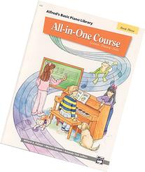 All-in-One Course for Children: Lesson, Theory, Solo, Book 3