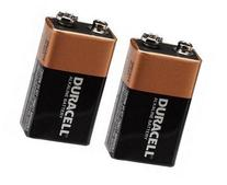 Duracell Alkaline 9V Battery  Mn1604