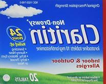 Claritin 24 Hour Allergy, Tablets - 20 ea