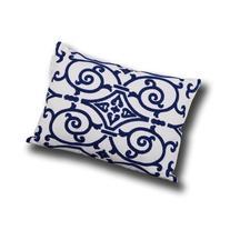 """Utopia Alley Danube Embroidered Decorative Pillow, 14"""" X 20"""