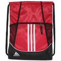 adidas Alliance II Sackpack, 18 x 13 3/4-Inch, Scarlet