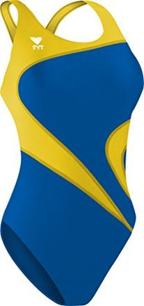 Tyr Alliance T-Splice Female Youth Royal/Gold 28