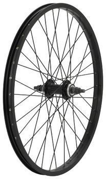 Avenir 36H Alloy 20 Inch x 1-3/8 Inch Rear Wheel, Black