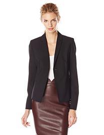 Elie Tahari Women's Alma Seasonless Wool Short Jacket, Black