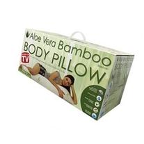 Aloe Vera Bamboo Essence Body Pillow With Cool Comfort