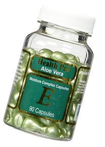 Aloe Vera & Vitamin E Skin Oil, 90 green Capsules