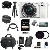 Sony Alpha a6000  Interchangeable Lens Camera with 16-50mm