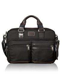 Tumi Alpha Bravo Andersen Slim Commuter Brief, Hickory, One