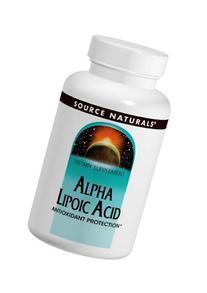 Source Naturals Alpha Lipoic Acid, Antioxidant Protection