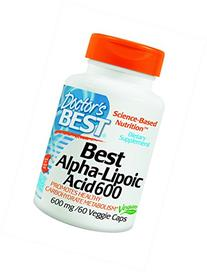 Doctor's Best Alpha-Lipoic Acid 600 mg 60 veggie caps