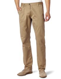 Dockers Men's Alpha Khaki Slim Flat-Front Pant,New British