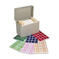 * Alpha-Z Color-Coded Second Letter Labels Starter Set, A-Z