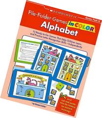 File-Folder Games in Color: Alphabet: 10 Ready-to-Go Games
