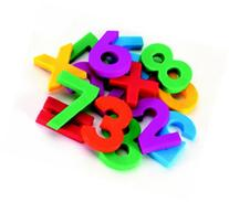 Alphamagnets: Lowercase Letters; Multi-Colored; 42 Piece Set