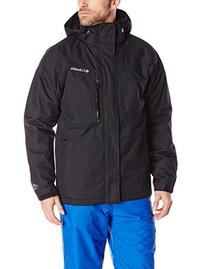 Men's Alpine Action Jacket, Black, X-Large