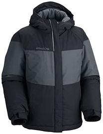 Columbia Boy's Alpine Action Jacket, Black, Small