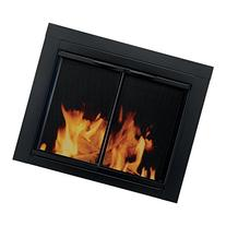 Pleasant Hearth Alpine Cabinet Style Fireplace Screen and