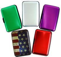 Aluminum Aluma Hard Case Credit Cards Wallet