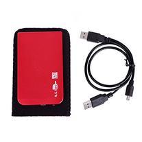 HDE Aluminum External Hard Drive Disk Enclosure USB 2.0 to