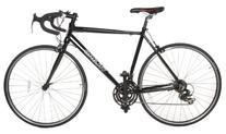 Vilano Aluminum Road Bike 21 Speed Shimano, Black, 58cm