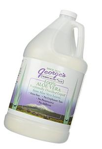 "George's 100% ""Always Active"" Aloe Vera Liquid 1 Gallon"