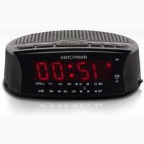 Memorex Am/fm Radio Large Red LED Display Alarm Clock