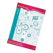 American Girl Art Doodle & Design Sketchbook 40 pgs