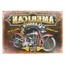 American Classics Motorcycle Tin Sign