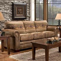 American Furuniture Classics Wild Horses Sleeper Sofa