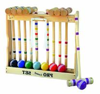 Amish Crafted Pro Croquet Game Set, 8 Player