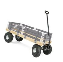 Berlin F600 Amish-Made All-Terrain Tires Loadmaster Ride-On