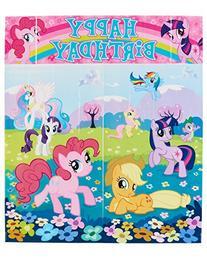 American Greetings My Little Pony Scene Setter Room