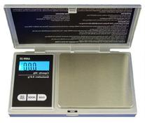 American Weigh AMW-600 Silver Precision Digital Pocket Scale