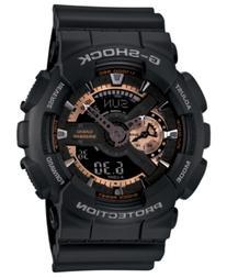 G-Shock Men's Analog Digital Black Resin Strap Watch 51x55mm