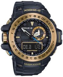 G-Shock Men's Analog-Digital Gulfmaster Black Bracelet Watch