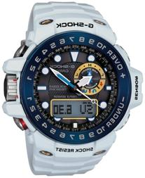 G-Shock Men's Analog-Digital Gulfmaster White Resin Strap