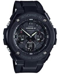 G-Shock Men's Analog-Digital Black Ip with Black Resin Strap