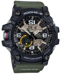 G-Shock Men's Analog-Digital Mudmaster Army Green Resin